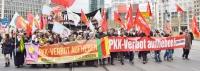 Demonstration gegen das PKK-Verbot, 21.2.15, Berlin
