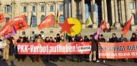 Kundgebung gegen das PKK-Verbot vor dem Reichstag, Berlin, 27.2.15