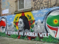 In Gedenken an Andrea Wolf/Ronahî