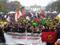 Berlin November 2013: Demonstration gegen das PKK-Verbot