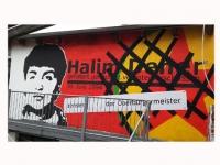 Hannover Kornstr.: Wandbild zum 20. Todestag von Halim Dener
